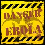 Ebola κινδύνου Στοκ φωτογραφία με δικαίωμα ελεύθερης χρήσης