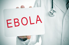 ebola Immagini Stock Libere da Diritti