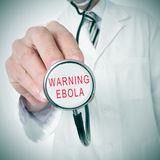 ebola Imagen de archivo libre de regalías