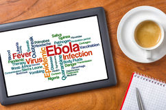 ebola Fotografie Stock Libere da Diritti