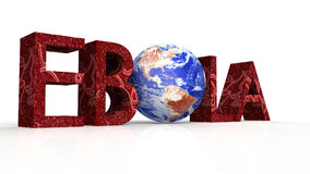 Ebola concept word cloud background Stock Image