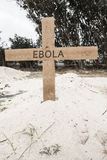 EBOLA cross Stock Photography