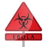 Ebola Danger Poster Stock Photography
