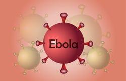 Ebola de virus d'extension images libres de droits
