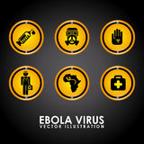Ebola design Stock Photo