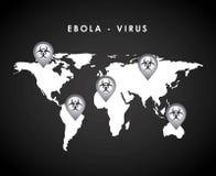 Ebola design Royalty Free Stock Photo
