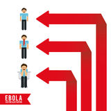 Ebola design Royalty Free Stock Photography