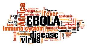 Ebola epidemic Stock Photography