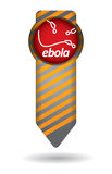 Ebola, epidemiological concept Stock Photos