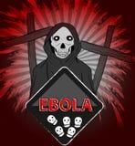 Ebola grim reaper concept Stock Images