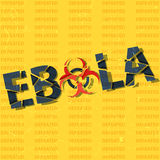 Ebola has been defeated Royalty Free Stock Photos