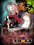 Ebola Hemorrhagic Koorts - Epidemie - Biohazard Royalty-vrije Stock Foto's