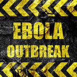 Ebola outbreak concept background Royalty Free Stock Photography