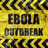 Ebola outbreak concept background Stock Images