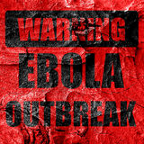 Ebola outbreak concept background. Ebola virus concept background with some soft smooth lines Royalty Free Stock Photo