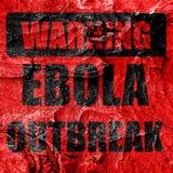 Ebola outbreak concept background Royalty Free Stock Photo