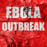 Ebola outbreak concept background. Ebola virus concept background with some soft smooth lines Royalty Free Stock Photos