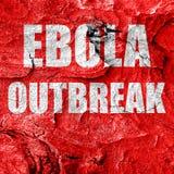 Ebola outbreak concept background Royalty Free Stock Photos