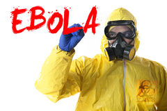 Ebola Outbreak Royalty Free Stock Photography