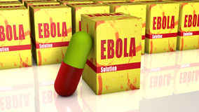 Ebola pils Royalty Free Stock Photo