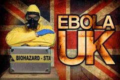 Ebola R-U Photographie stock
