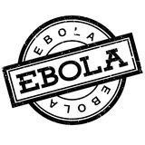 Ebola rubber stamp Royalty Free Stock Photo