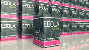 Ebola sign Royalty Free Stock Photography