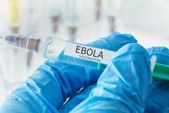 EBOLA szczepienie Obrazy Stock