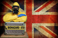 Ebola UK Obrazy Royalty Free