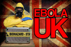 Ebola UK Royalty Free Stock Image
