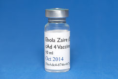 Ebola Vaccine Royalty Free Stock Photos