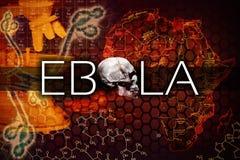 Ebola virus Royaltyfri Bild