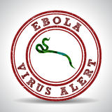 Ebola Virus alert in Africa Stock Photo