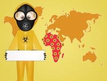 Ebola virus Royalty Free Stock Image