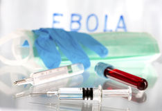 Ebola virus microbiology research Stock Photo