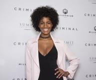 Ebonee Davis, Sports- Illustratedmodell Lizenzfreies Stockfoto