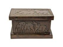Ebony box Stock Photography