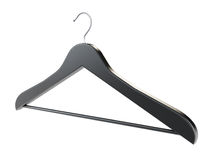 Ebony Coat Hanger Stock Images