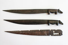 Ebony Letter Knives fotografia de stock royalty free
