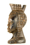 Ebony statuette Stock Images
