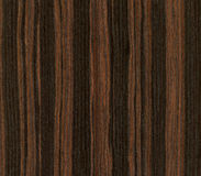 Ebony wood texture Stock Images