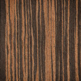 Ebony wood texture Stock Photography