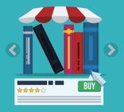 EBook设计 免版税图库摄影