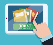 EBook设计 库存照片