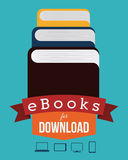 EBook设计 免版税库存图片