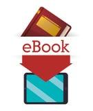 EBook设计 图库摄影