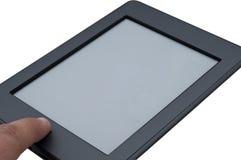 Ebook阅读程序设备涉及 免版税库存图片
