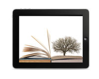 ebook阅读程序 免版税图库摄影