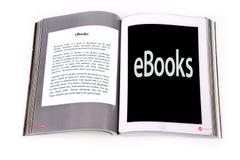 Ebook таблетки Стоковые Изображения RF