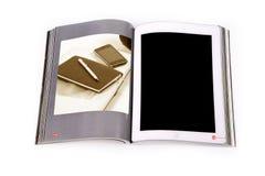 Ebook таблетки Стоковая Фотография RF